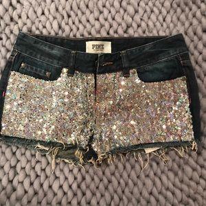 PINK Shorts - Women's Victoria's Secret PINK size 26 (2) Shorts